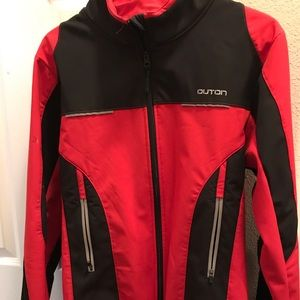Cycling jacket.